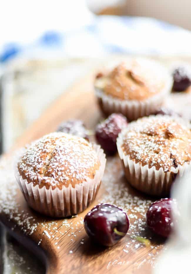 Cherry Muffins-3