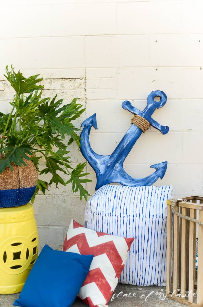 DIY anchor SIGN out of foam-4