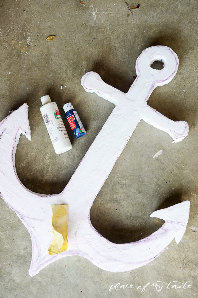 DIY anchor SIGN out of foam-6-2
