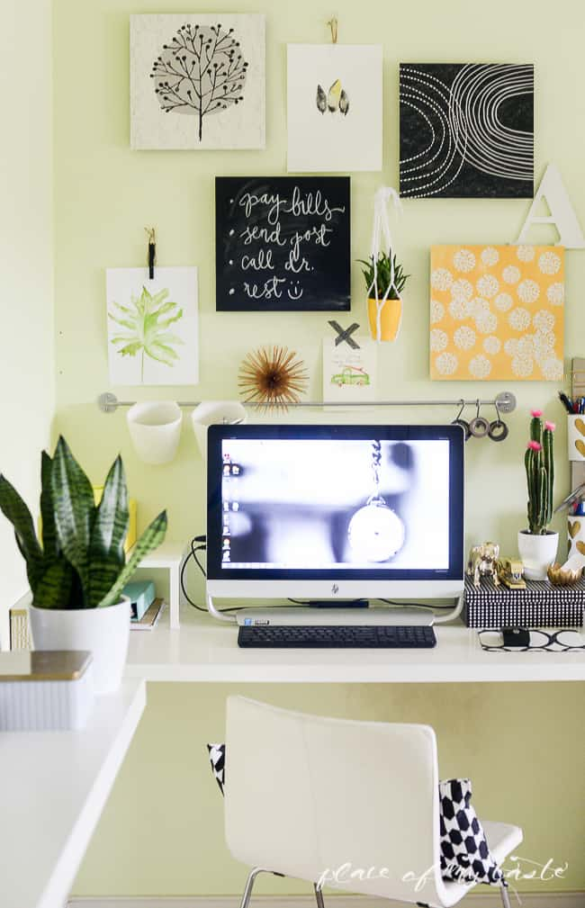 Easy Wall Transformation with command decor-14