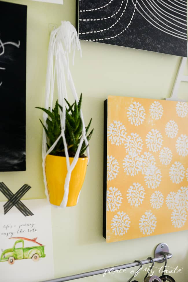 Easy Wall Transformation with command decor-19