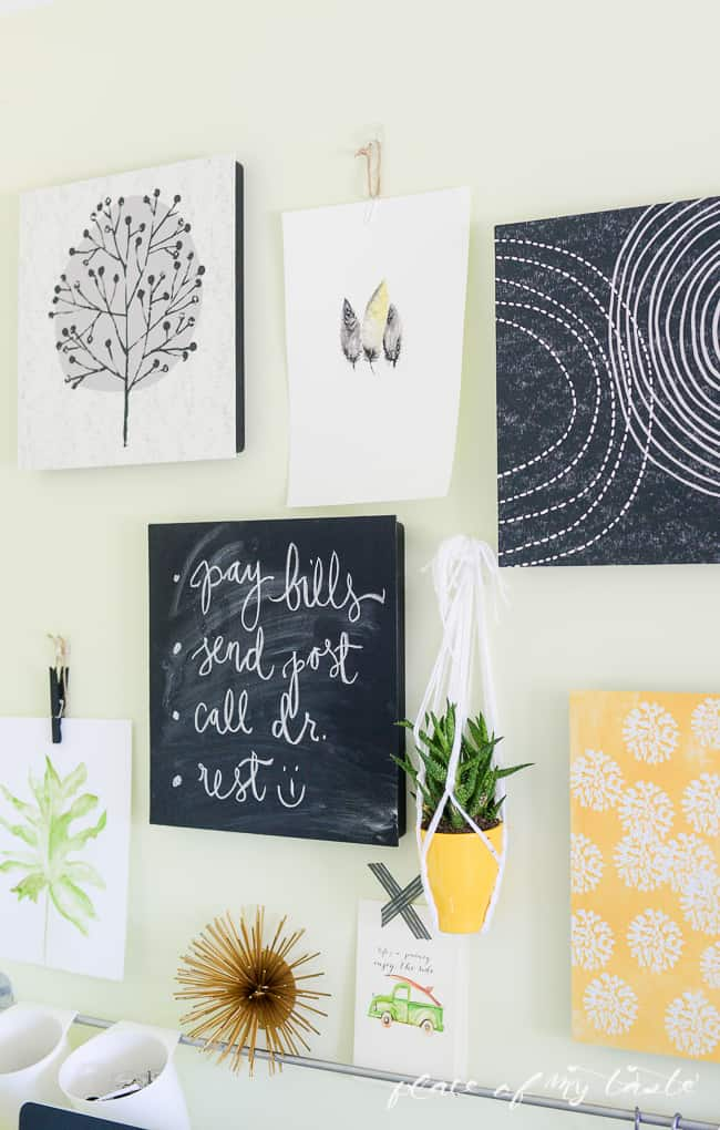 Easy Wall Transformation with command decor-3-2