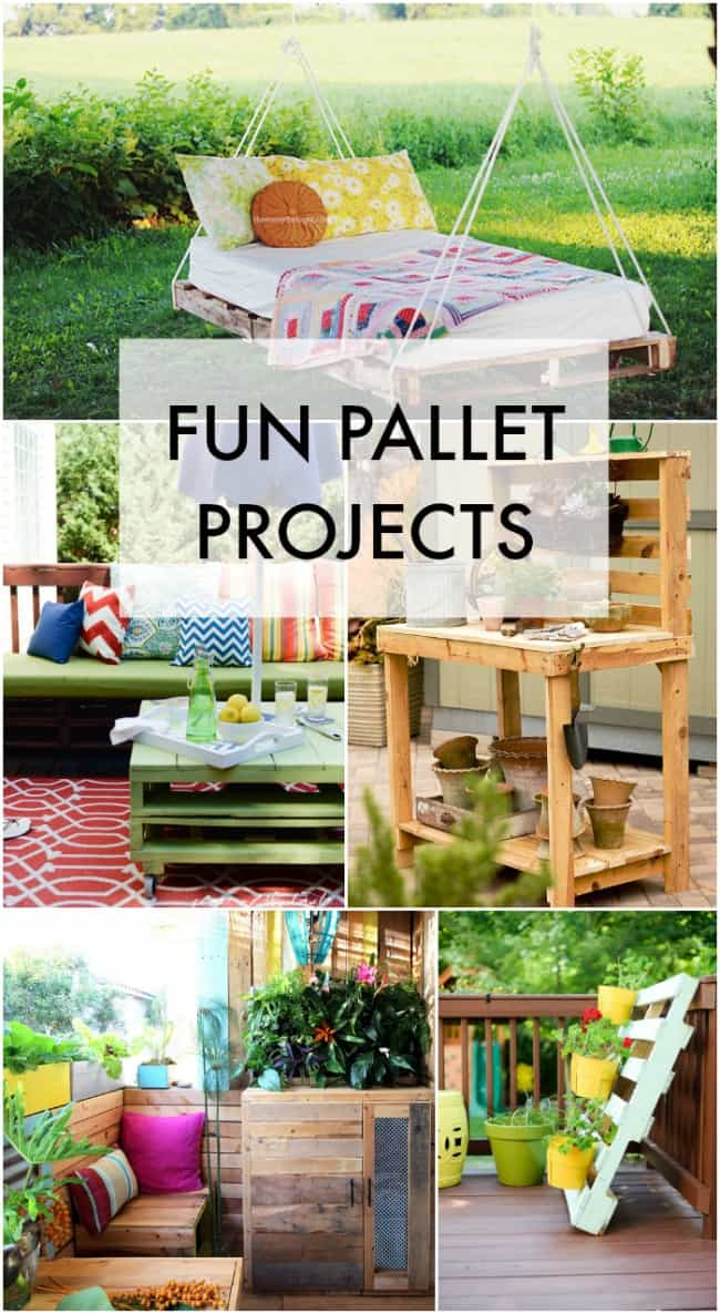 FUN PALLET PROJECTS.