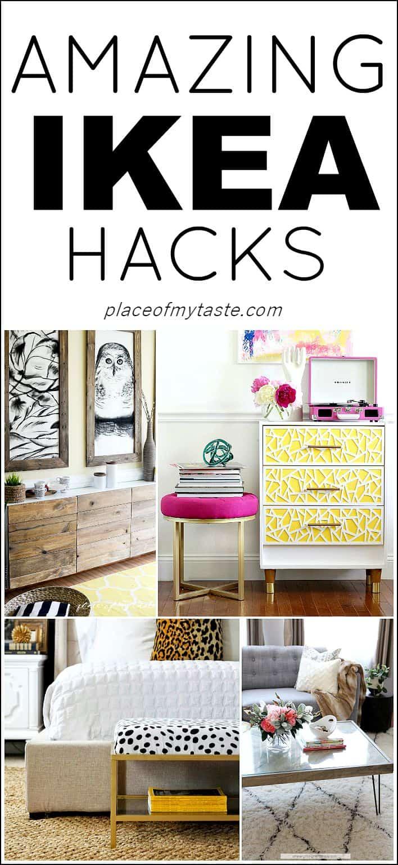 Amazing IKEA hacks