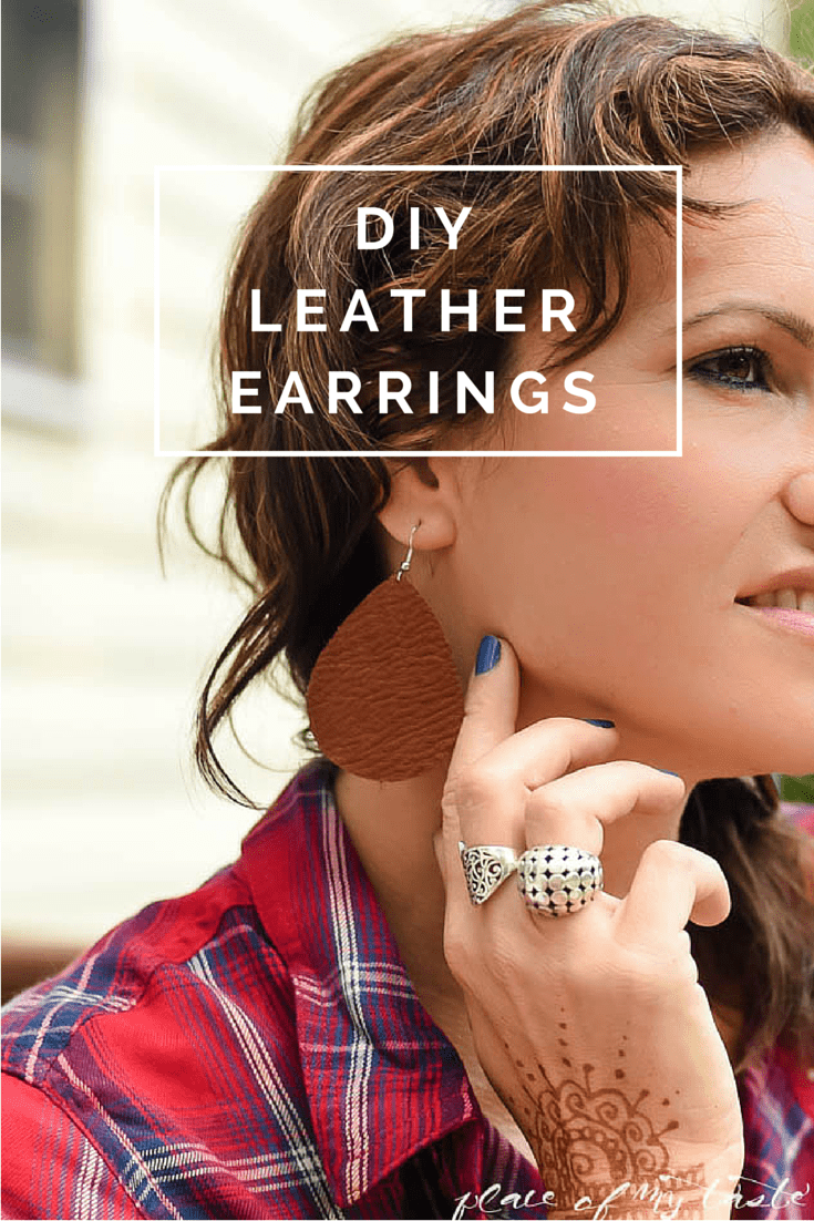 DIY LEATHER EARRING (1)