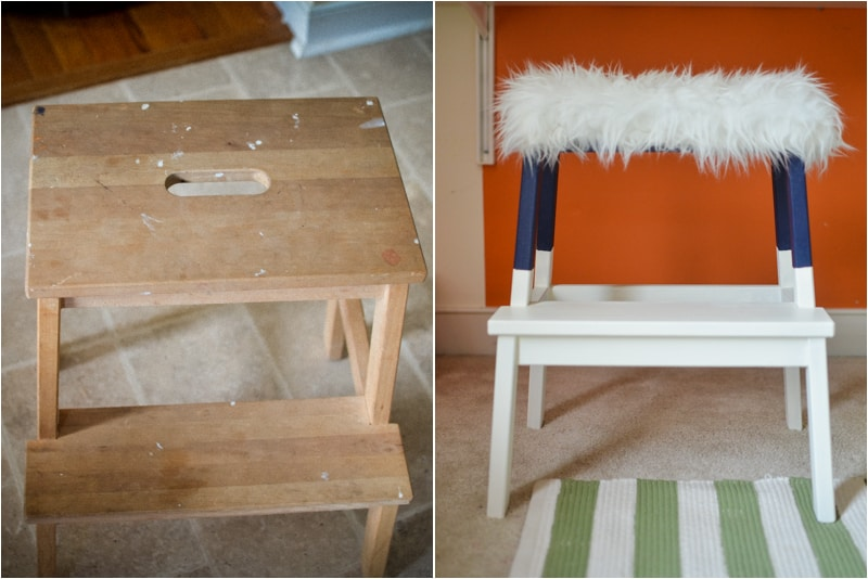 IKEA STOOL HACK.