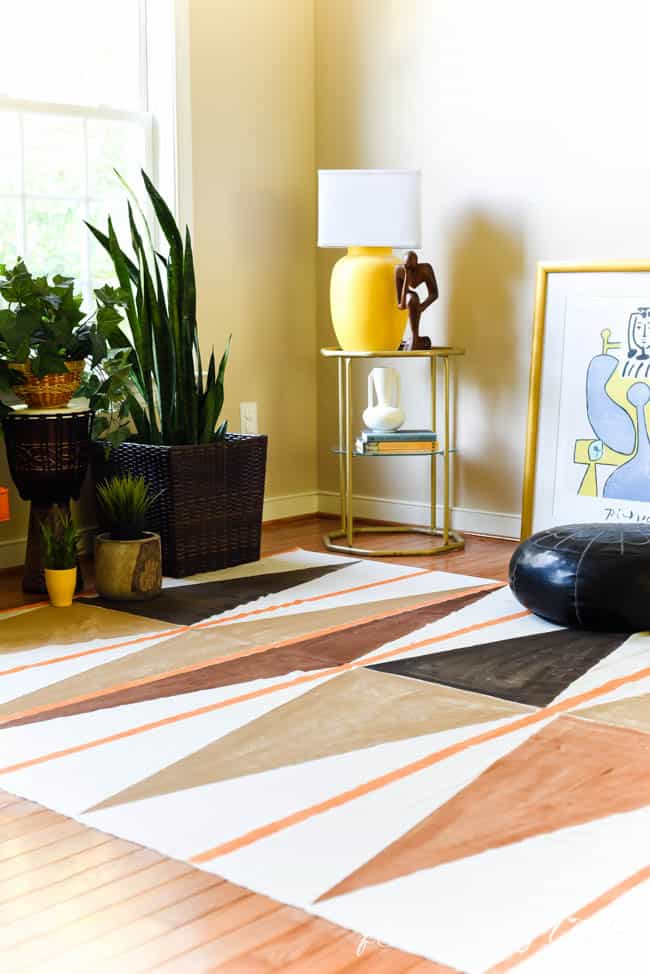 Painted rug -8