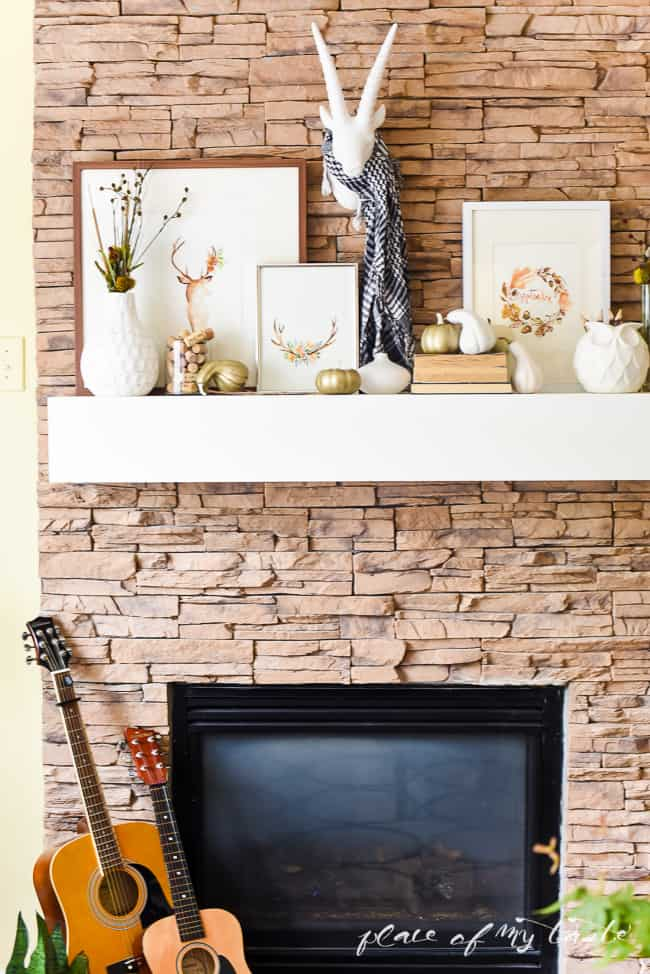 Blogger Stylin' Home Tours- Fall home tour (1 of 1)