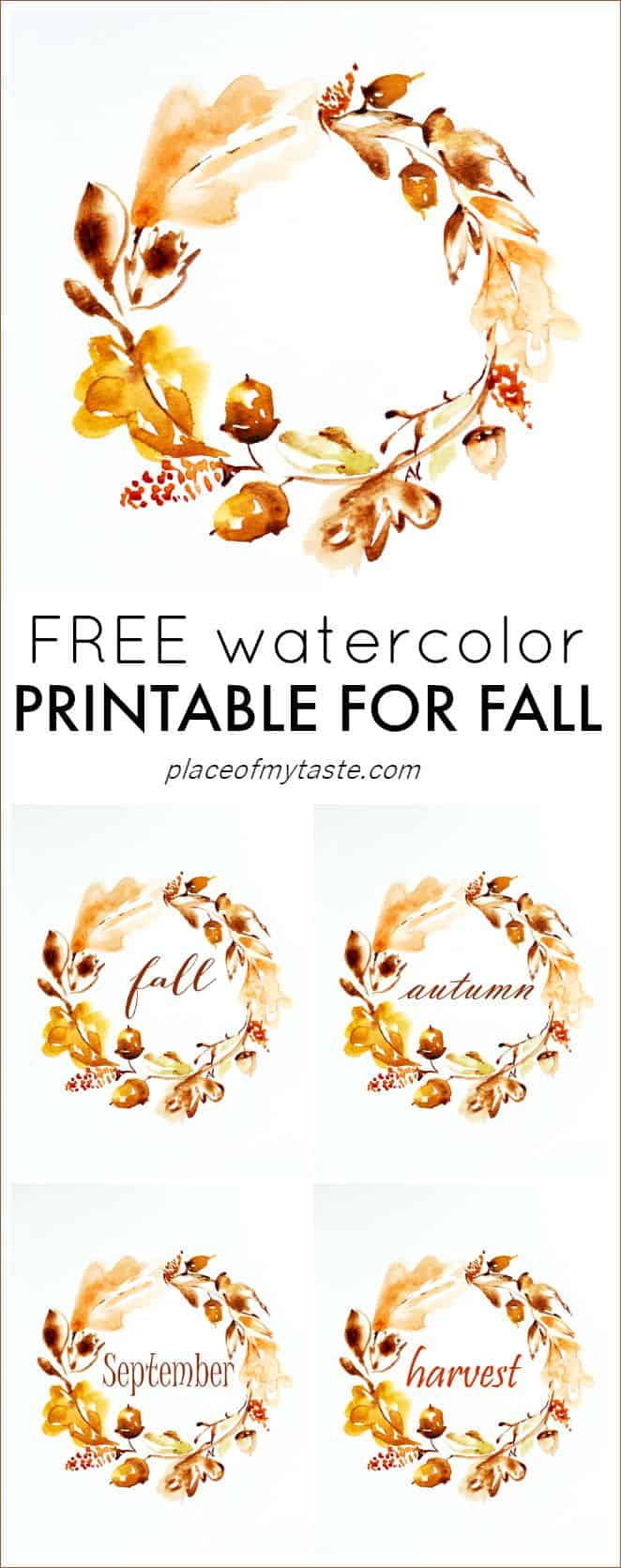 photo about Autumn Printable referred to as Get THIS Beautiful Absolutely free AUTUMN PRINTABLE! Consequently lovely♥