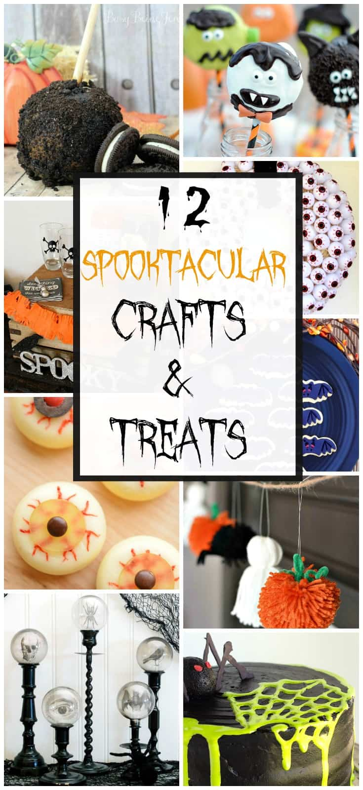 12 Spooktacular Halloween Crafts & Treats