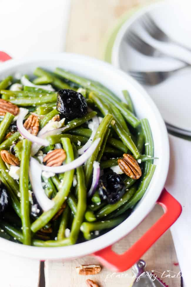 GREEN BEAN SALAD WITH PRUNES (5 of 5)