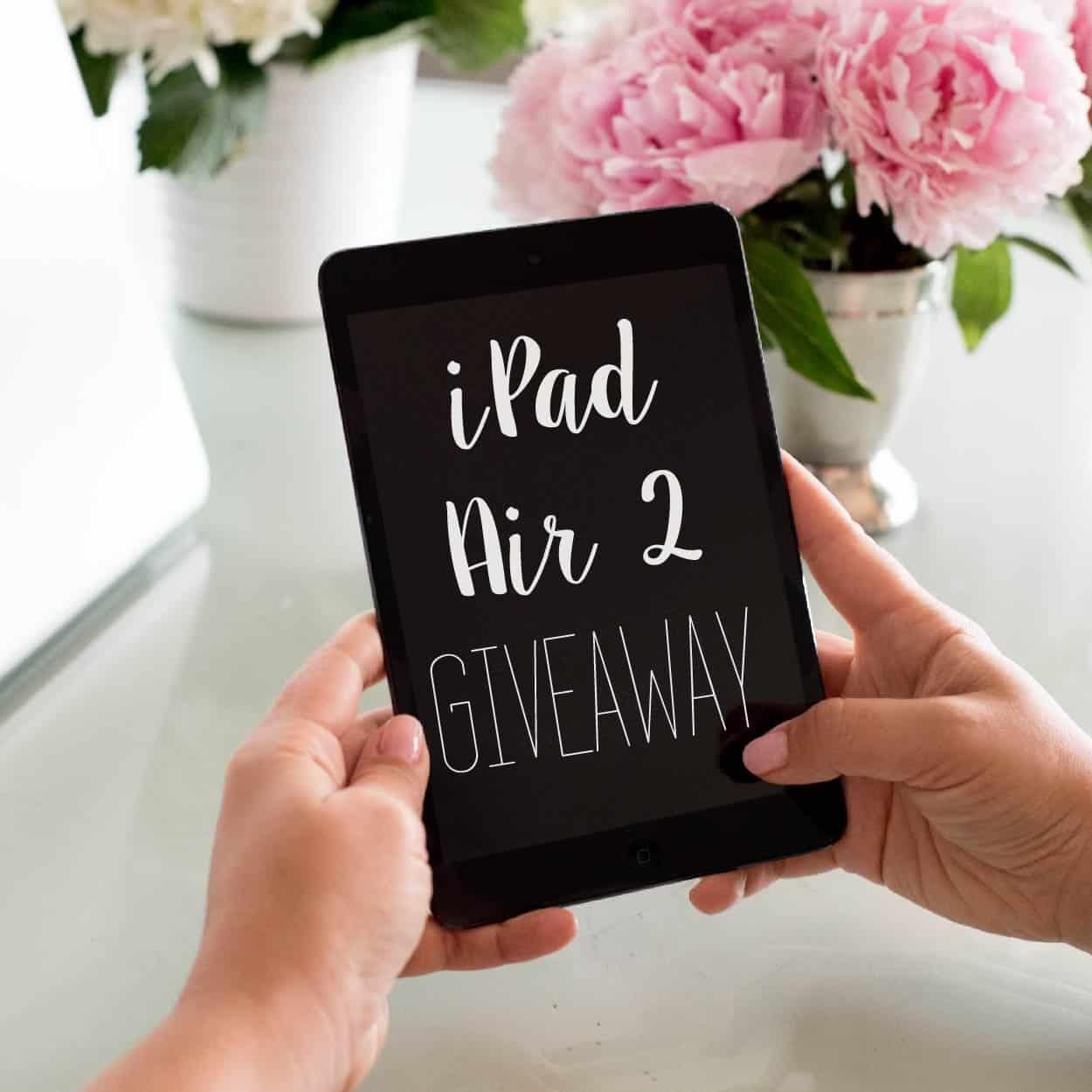 Instagram Giveaway iPad