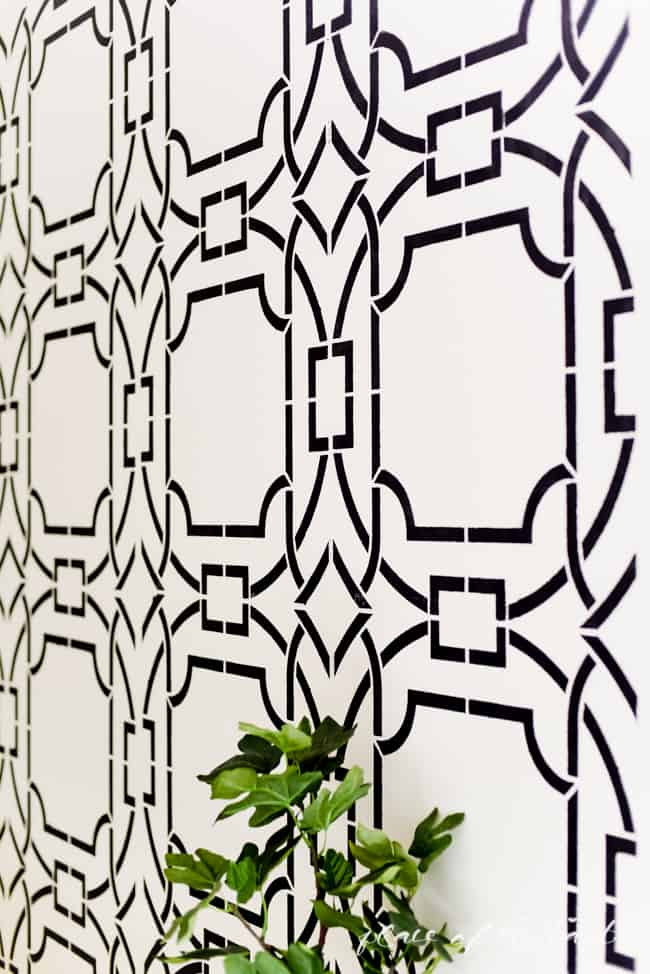 Stenciled wall (10 of 23)