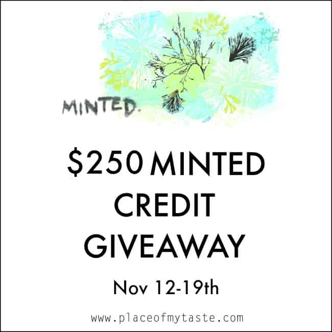 Living Room Reveal And Minted Giveaway Place Of My Taste