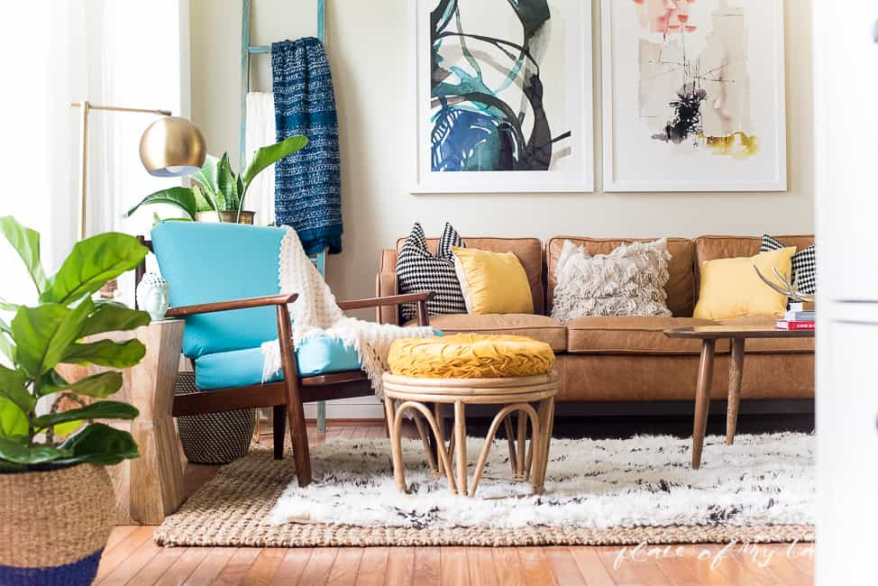 Genial This Fun And Boho Living Room Decor Is Great! You Need To See The Before