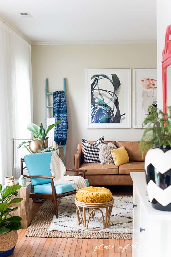 Superieur This Fun And Boho Living Room Decor Is Great! You Need To See The Before