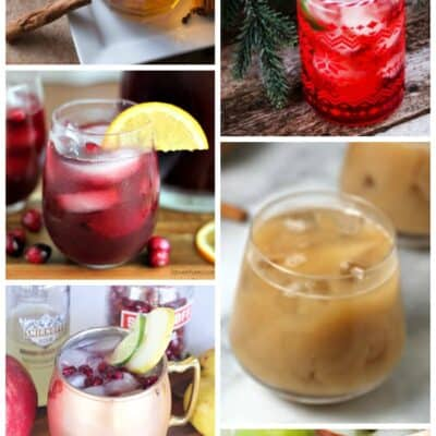 10 FESTIVE FRUITY HOLIDAY COCKTAILS  ( work it Wednesday)