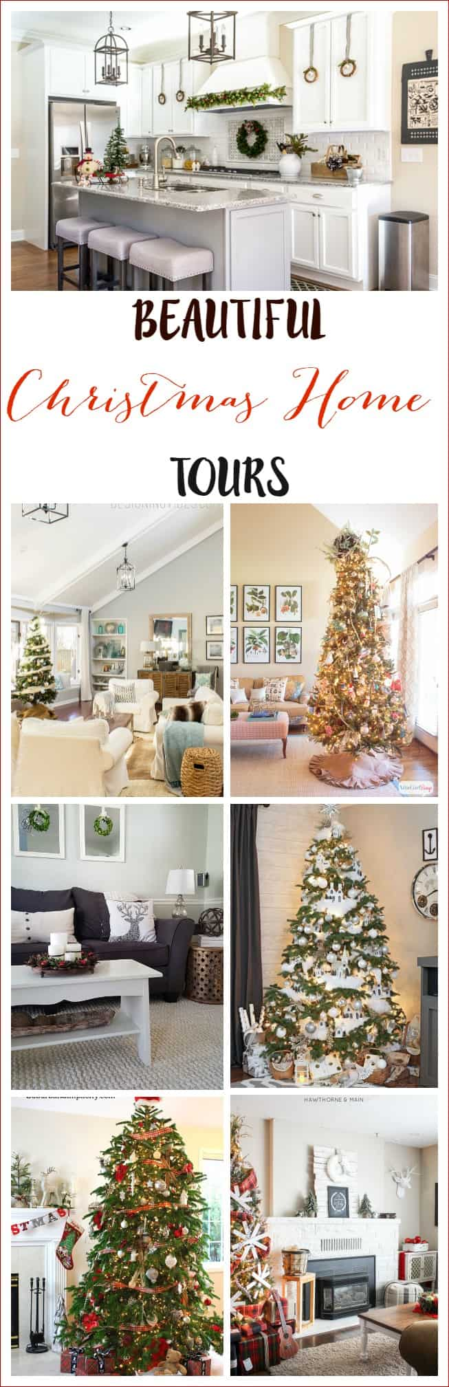Beautiful Christhmas HOme tours