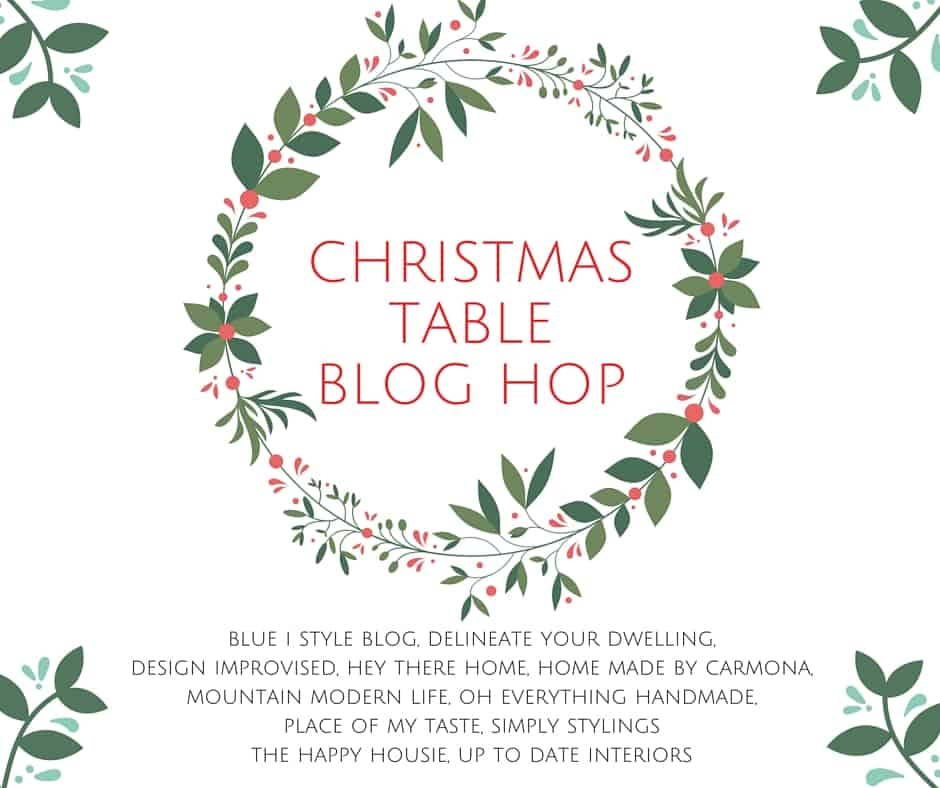 CHRISTMAS TABLE BLOG HOP