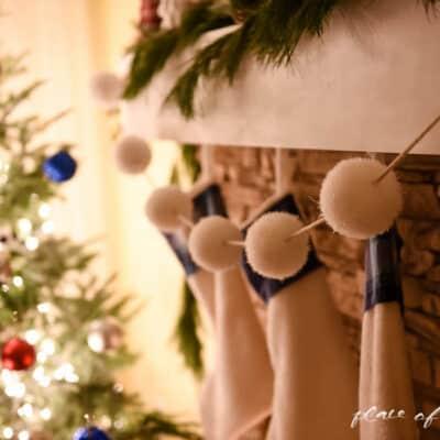 CHRISTMAS LIGHTS AT NIGHT HOME TOUR