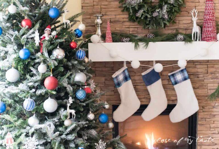 CHRISTMAS HOME TOUR 2015 {Blogger Stylin' Home Tours}
