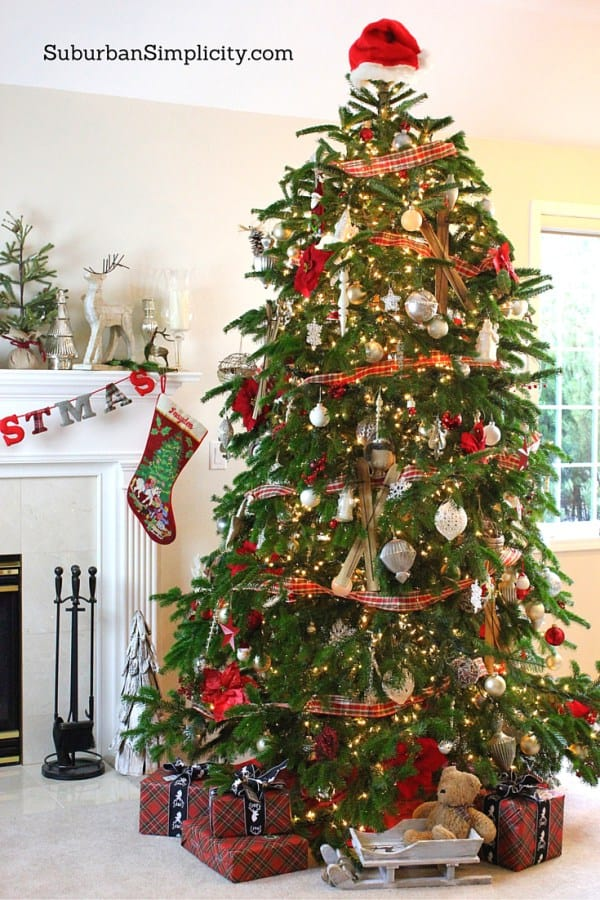 How-to-decorate-an-Elegant-and-Rustic-Christmas-tree-5