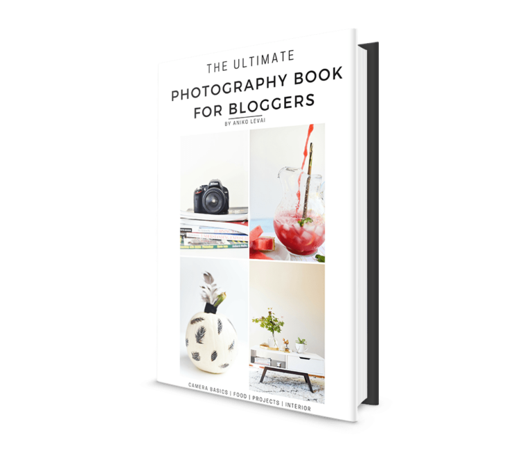 Photography for bloggers eBook – GREAT PHOTOGRAPHY TIPS