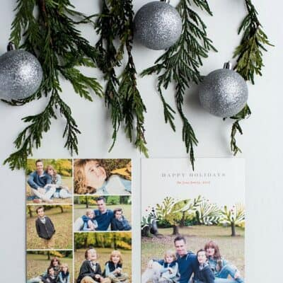 MINTED HOLIDAY CARDS AND GIVEAWAY