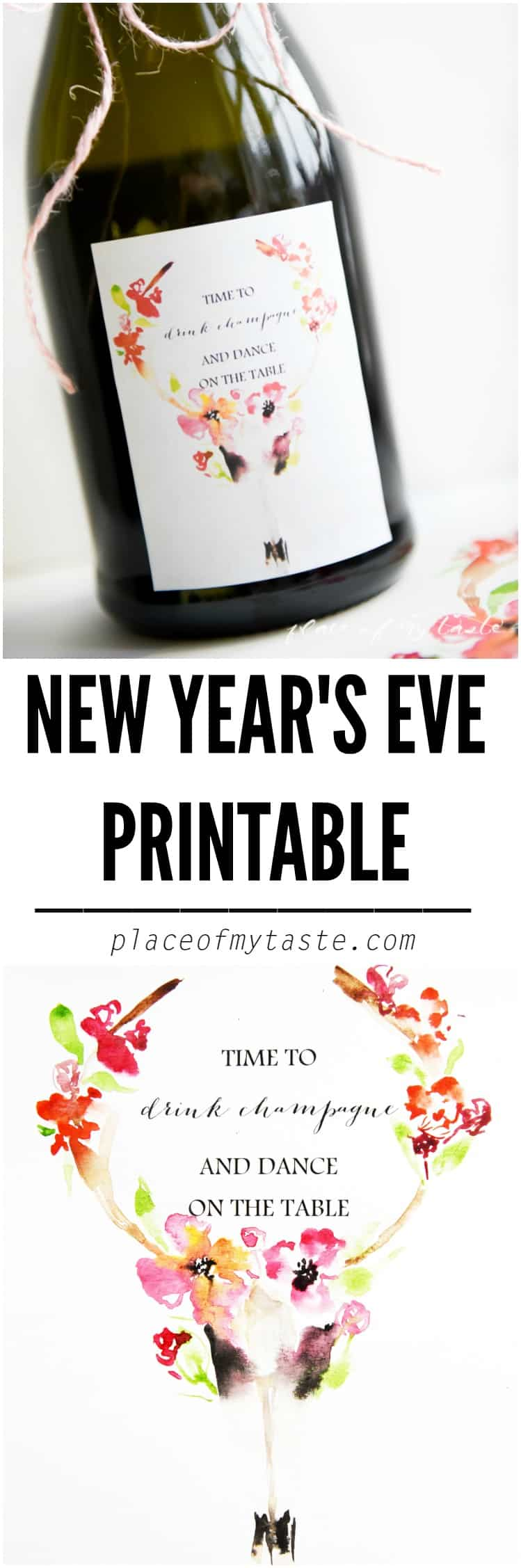 new years eve printable