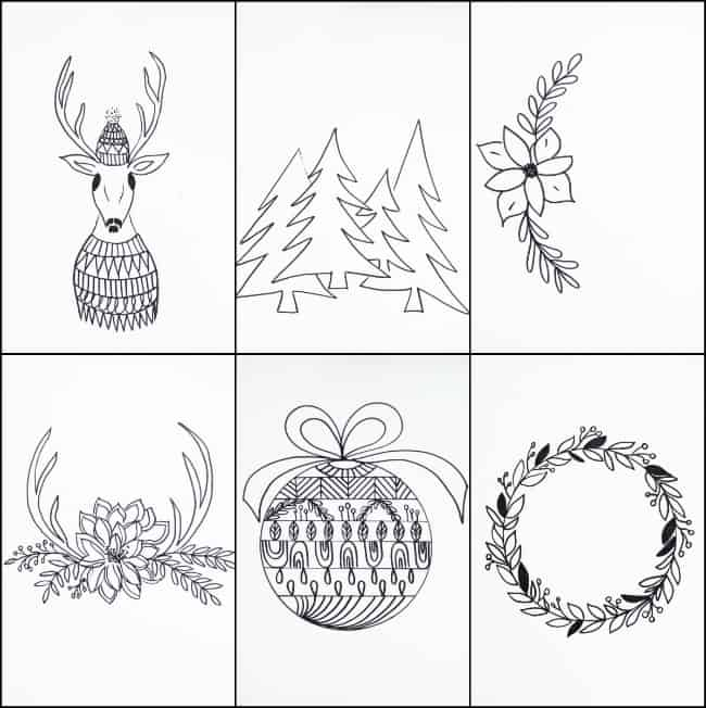 photograph relating to Printable Christmas Tags Black and White identify Totally free PRINTABLE Xmas TAGS THAT By yourself CAN Colour