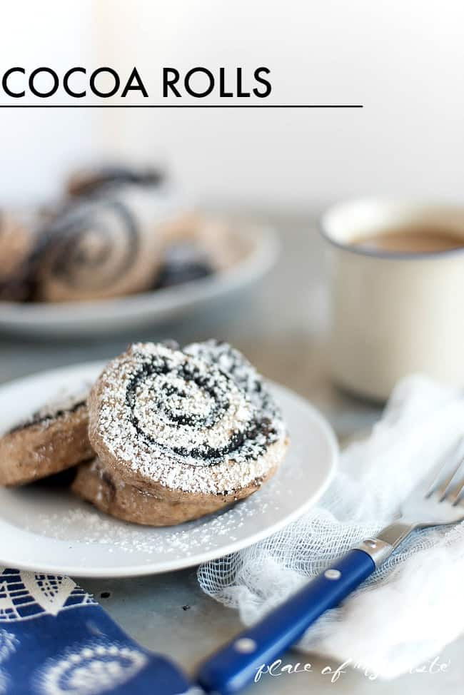 Cocoa rolls