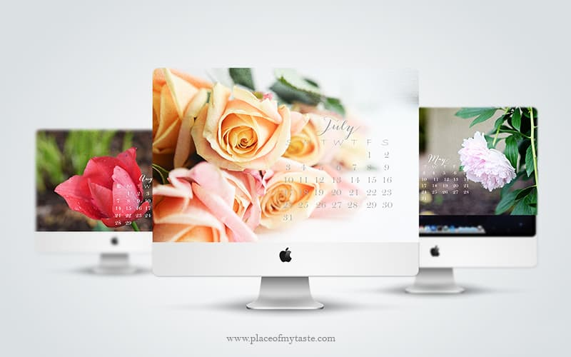 Desktop Calendars 2016