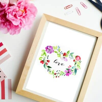 VALENTINE'S DAY PRINTABLE