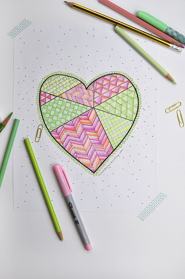 Heart-Coloring-Page