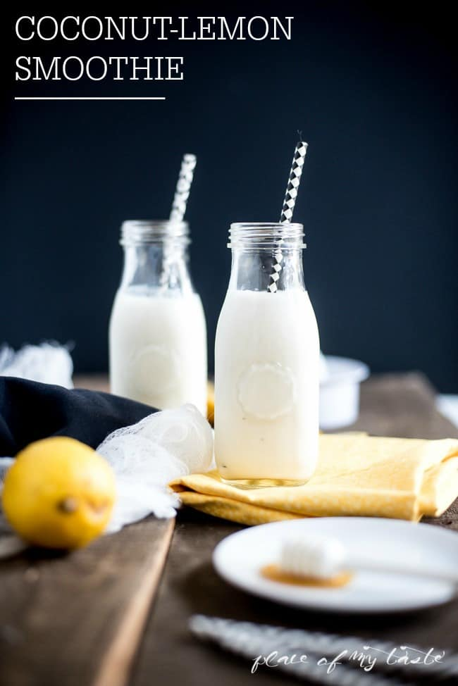 Coconut-Lemon Smoothie