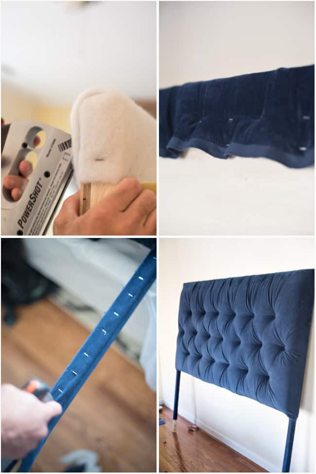 How to make a tufted headboardtutorial