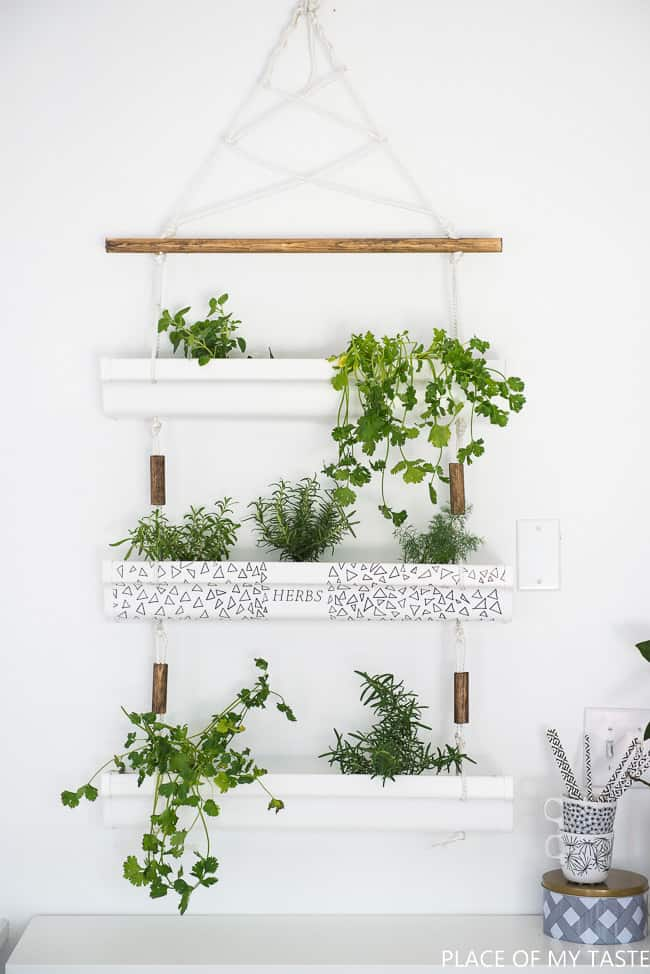 DIY hanging herb planter (1 of 10)