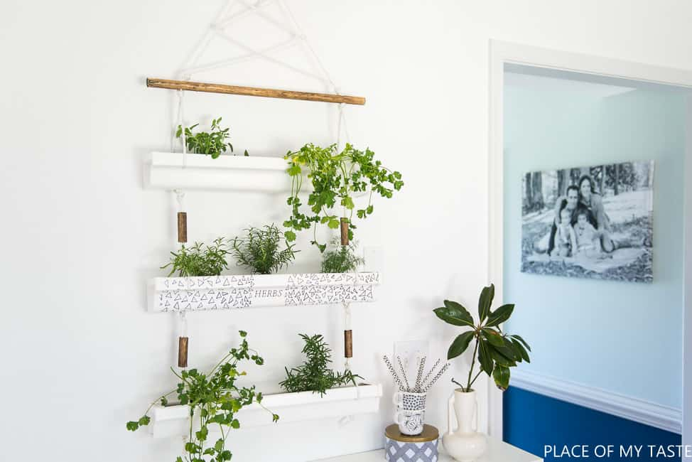 Diy Hanging Herb Planter 5 Of 10
