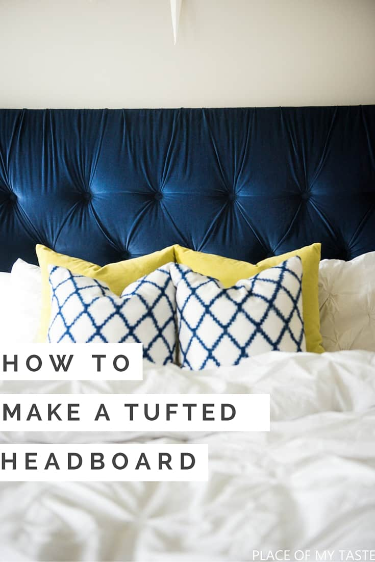 How To Make A Tufted Headboard 3