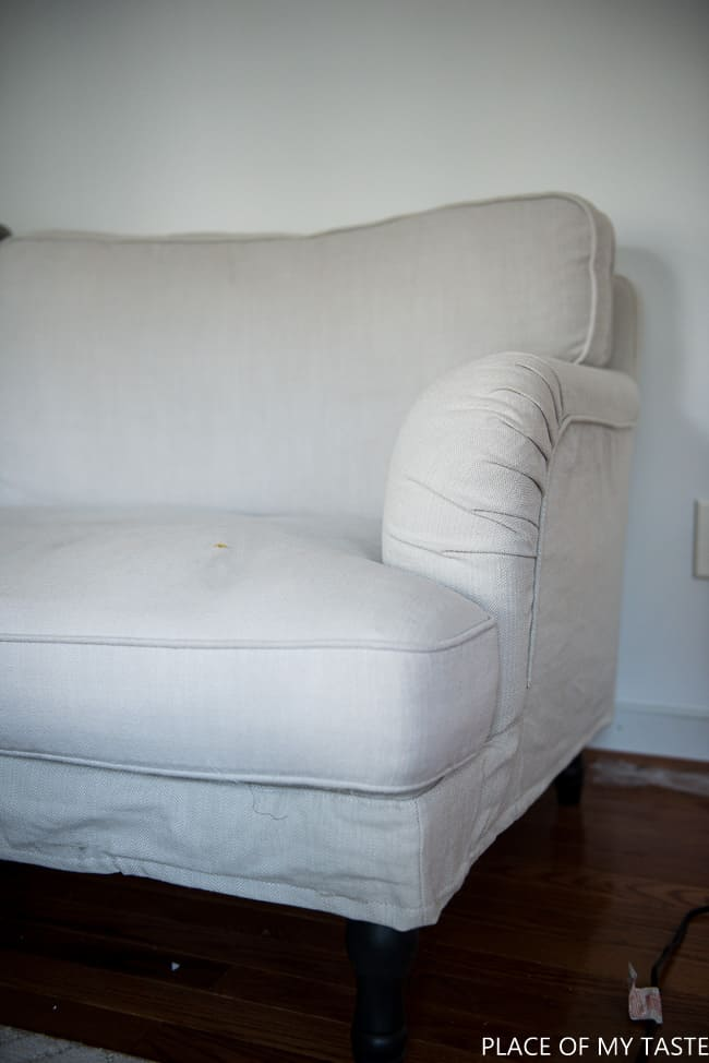 New sofa cover with Comfort Works (1 of 1)
