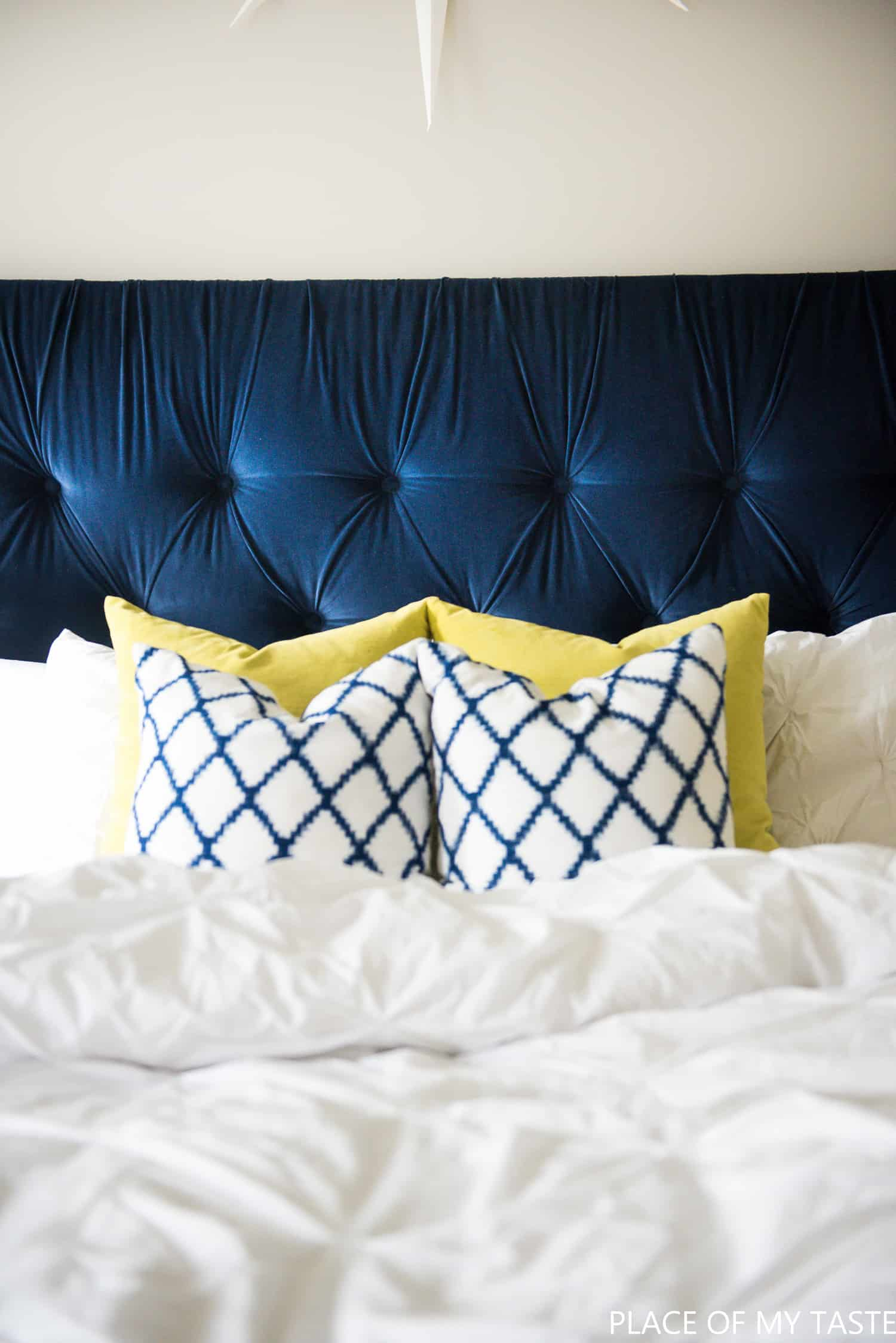 Tufted Headboard How To Make It Own Your Own Tutorial