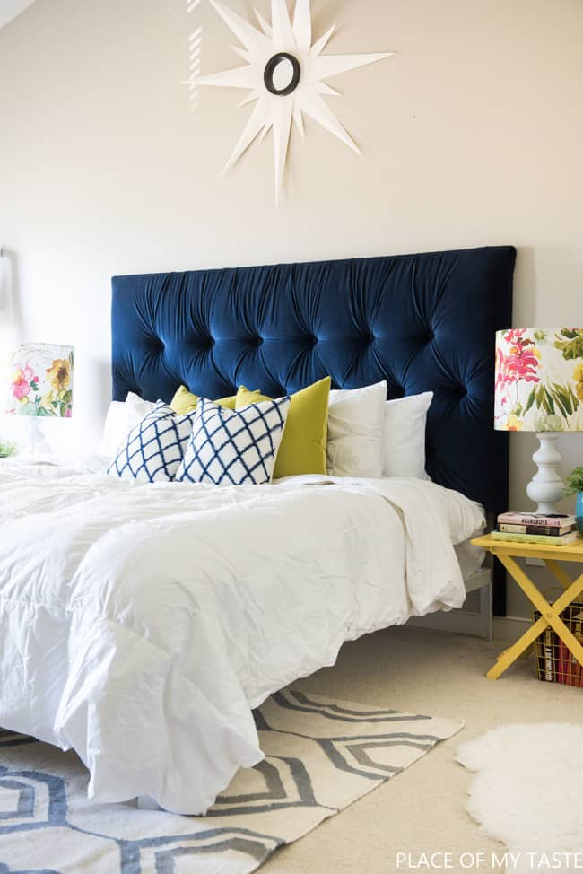 competitive price 7dc3c c81ce Tufted headboard - how to make it own your own tutorial