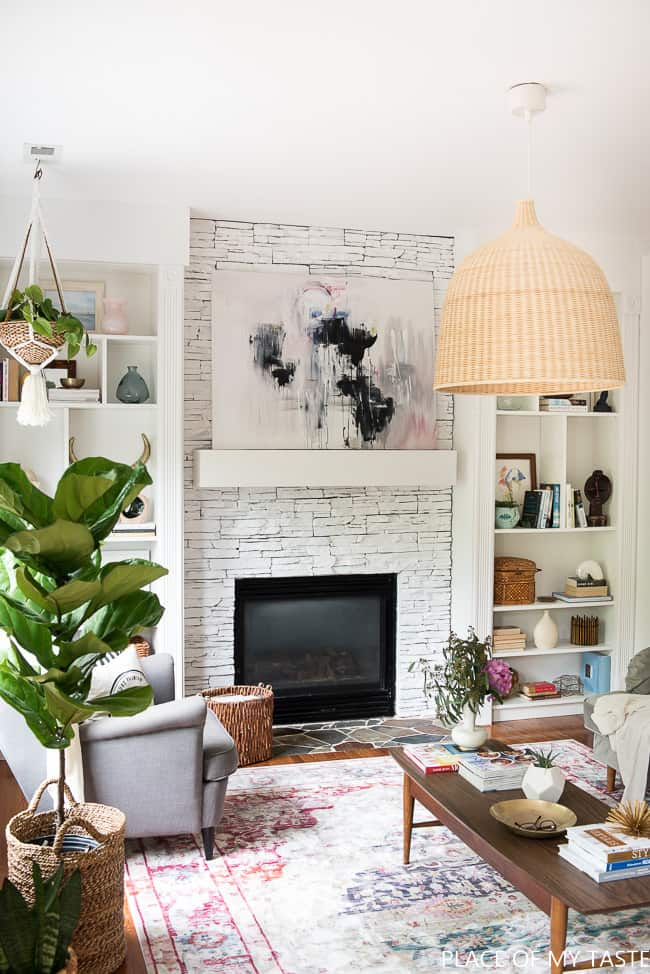 This Is A Gorgeous White Painted Fireplace Love How Bright It Have You