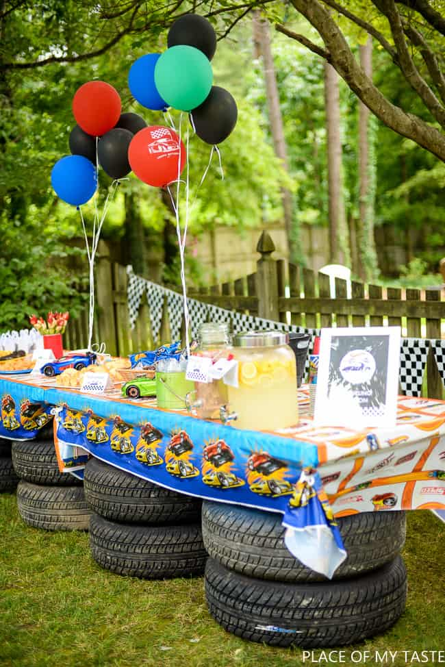 PARTY IDEAS FOR BOYS |HOT WHEELS PARTY PRINTABLES - PLACE OF MY TASTE