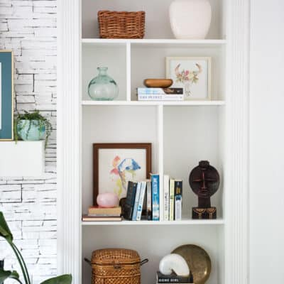 How to make IKEA BILLY BOOKCASE built-ins
