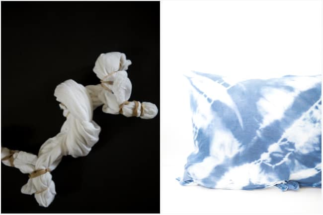 DIY SHIBORI PILLOWS 7