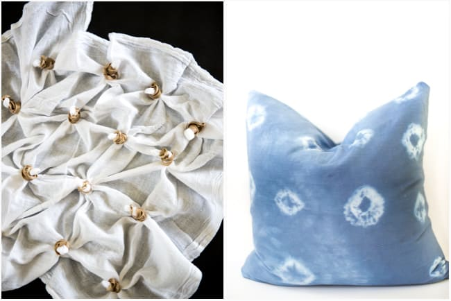 wild shibori pillows diy pine indigo linens dyed pillow
