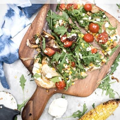SUMMER VEGGIE FLATBREAD