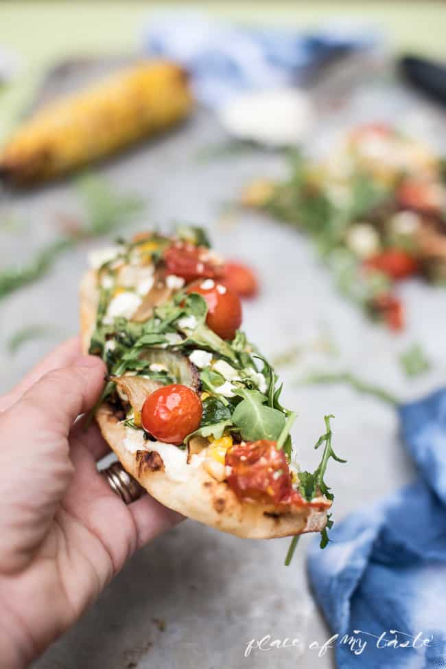 Summer Veggie Flatbread-7