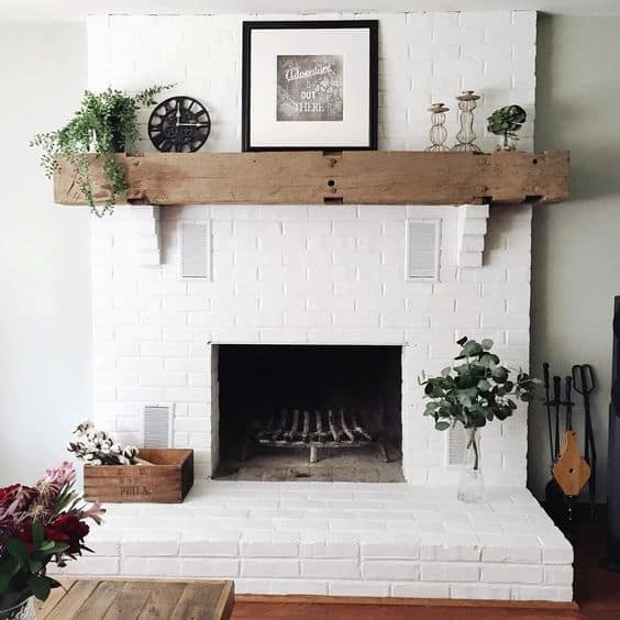 white fireplace 1